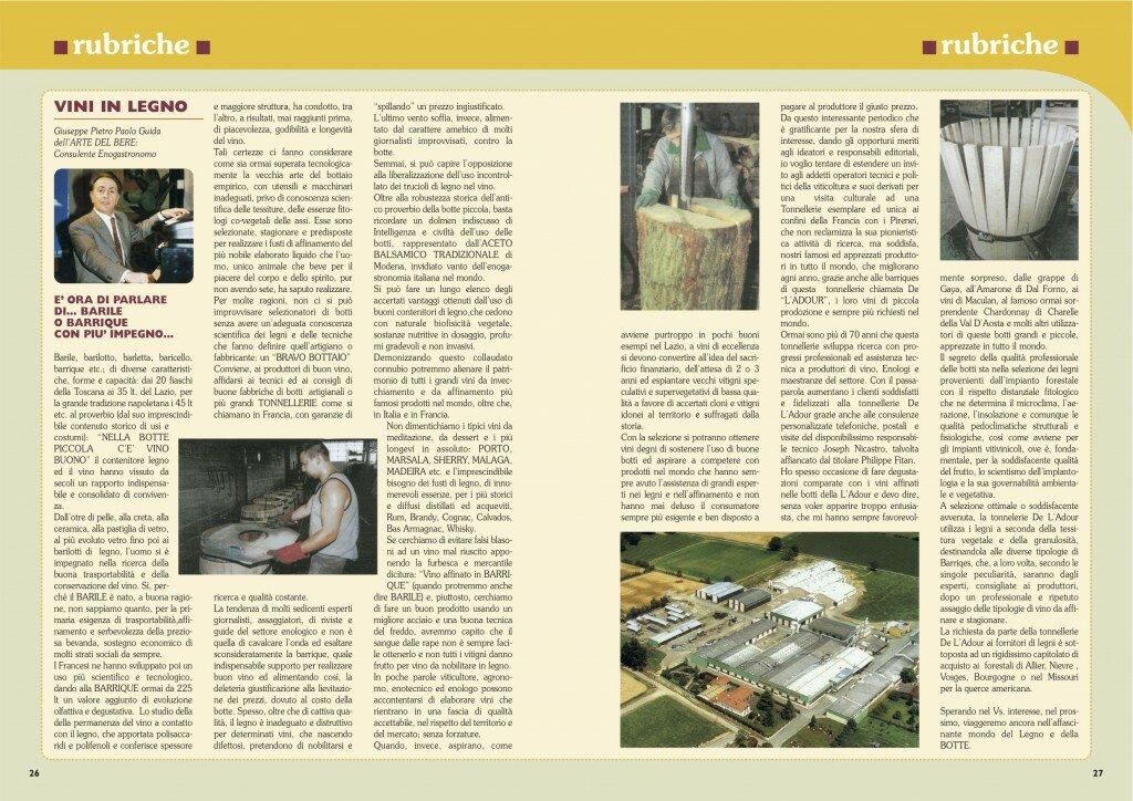 2006 Article ARTE & VINO 05.07.2006
