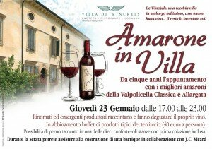 Amarone in Villa2014 participation de Joseph Nicastro